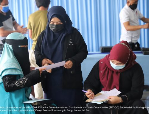 Bangsamoro Peace Process in the Time of a Pandemic