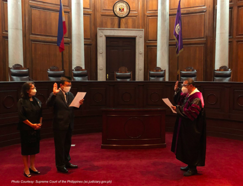 OPAPP lauds appointment of Justice Dimaampao to Supreme Court