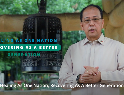 Galvez opens National Peace Consciousness Month celebration; says PH peace process remains on track