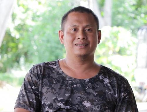 Lapis, papel at riple: Ang paglalakbay ng isang mandirigma tungo sa kapayapaan